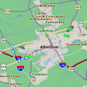 Dorney Park Allentown PA