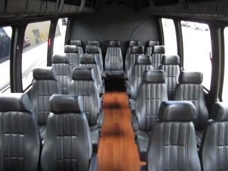 Executive Minibus Interior