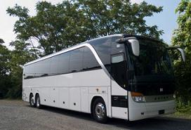 luxury coach bus rental