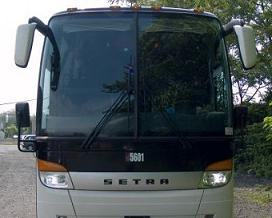 Luxury Coach Bus Rental