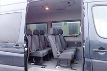 sprinter shuttle van rental