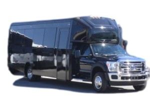 wedding shuttle bus rental services