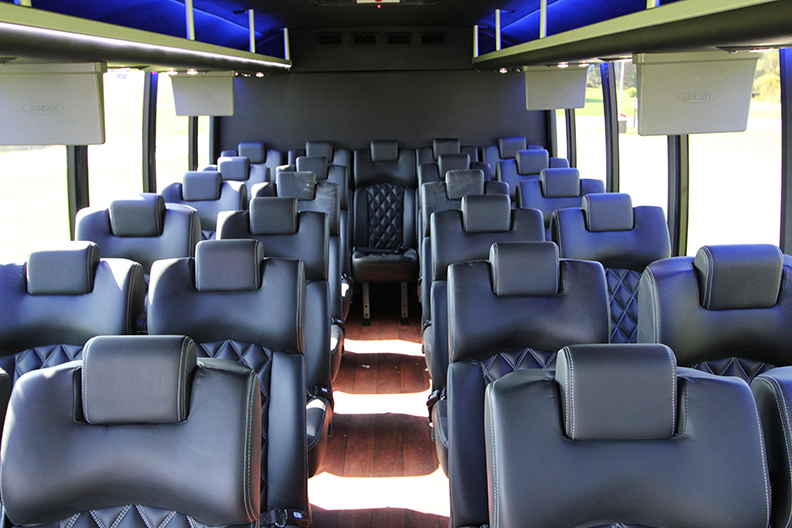 Luxury Mini Bus Rental