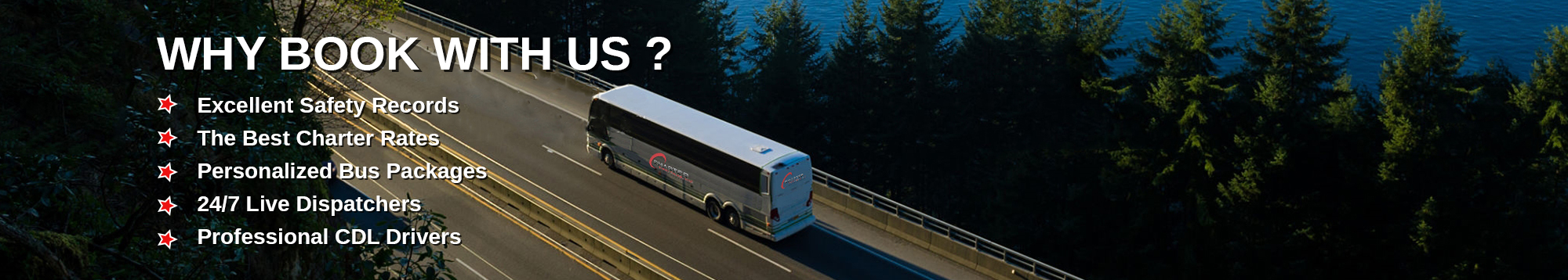 Charter Bus Rentals -Charter Every Thing