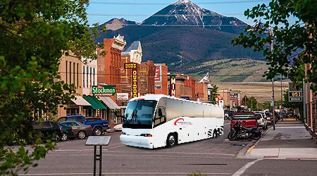 Montana MT Charter Bus
