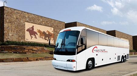 Oklahoma OK Charter Bus