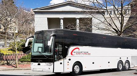 Rhode Island RI Charter Bus