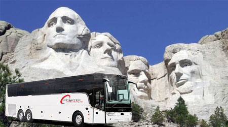 South Dakota SD Charter Bus