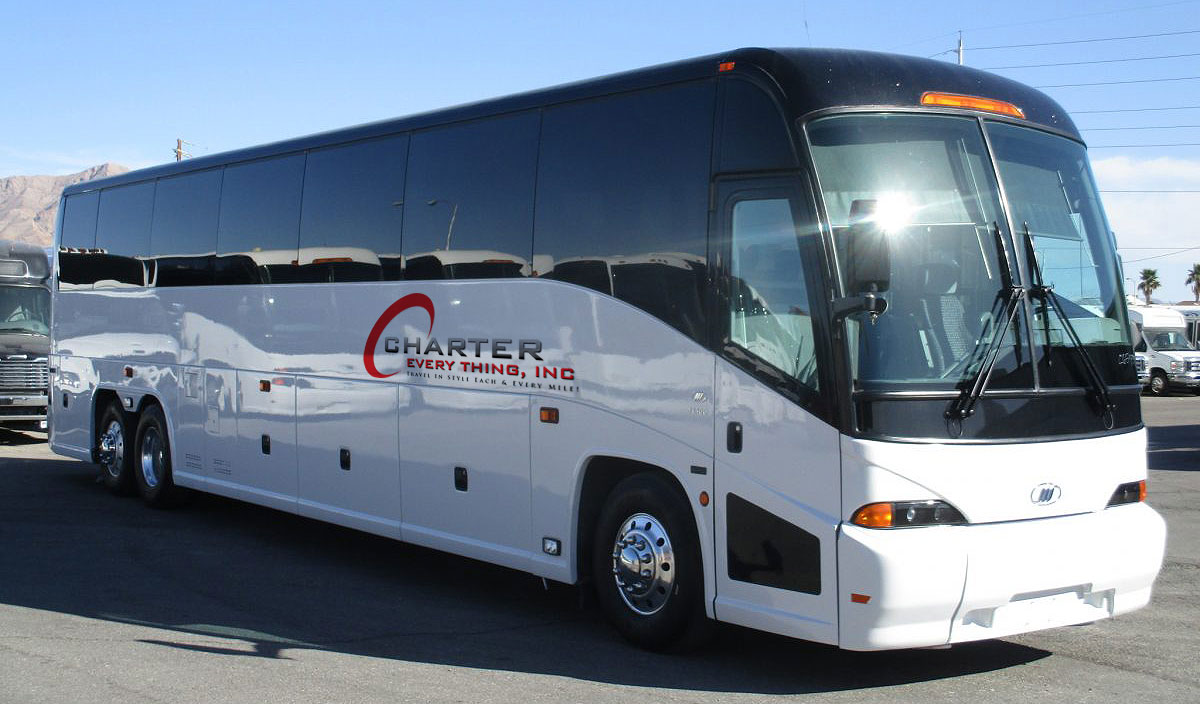 luxury charter buses Nevada